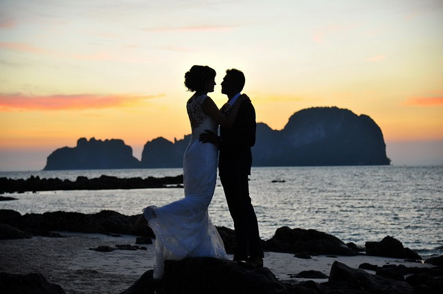 Bamboo Island Wedding