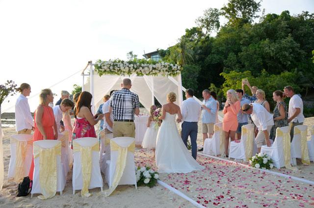 Trouwen op koh samui thailand for East coast wedding destinations